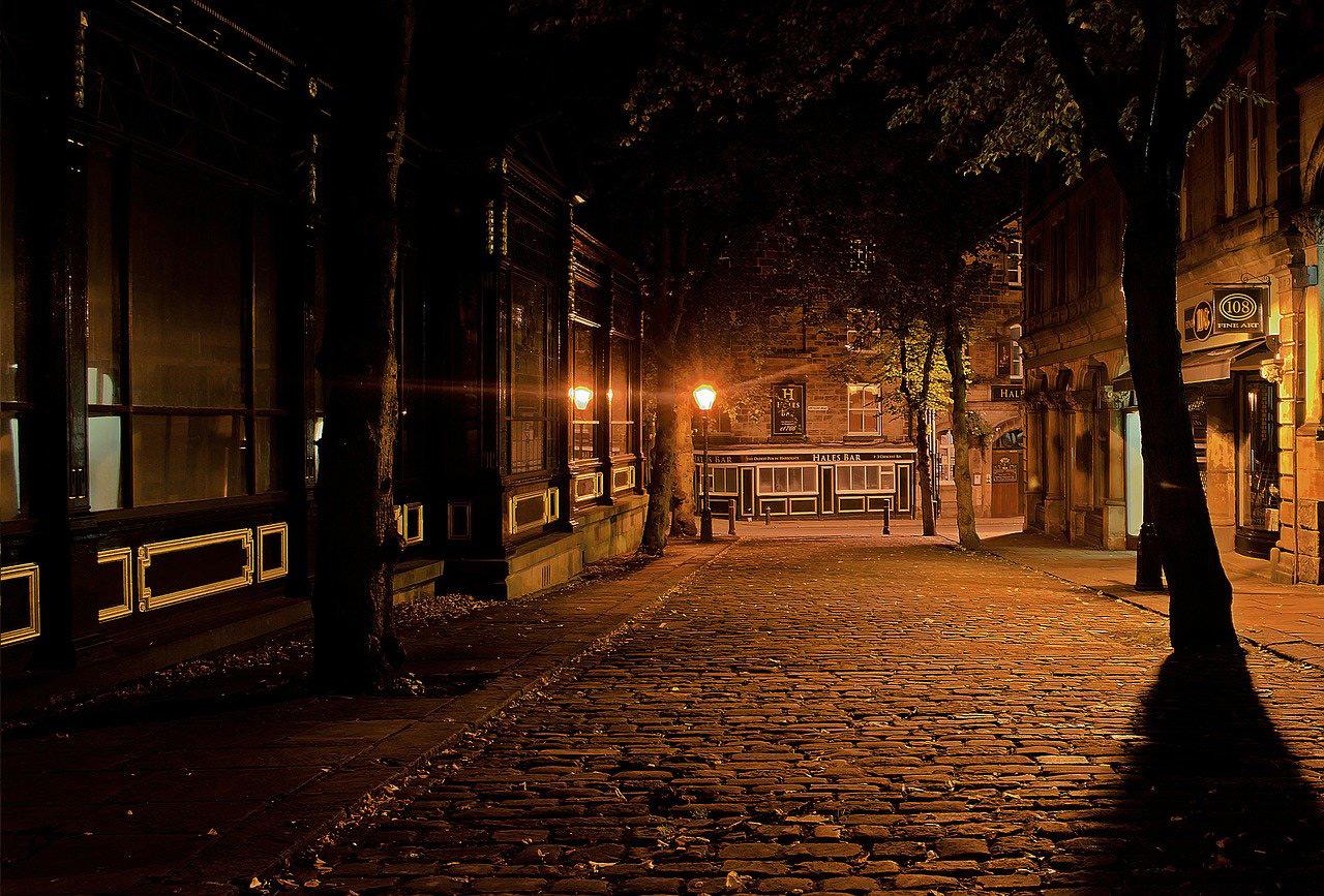 Luz artificial nocturna