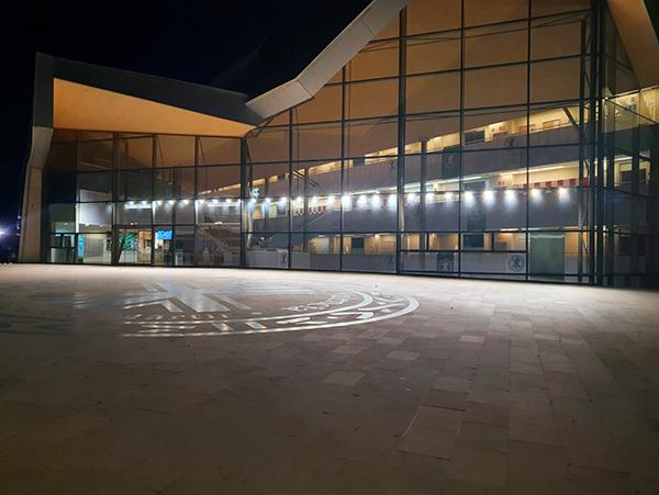 iluminación led universidad católica valencia