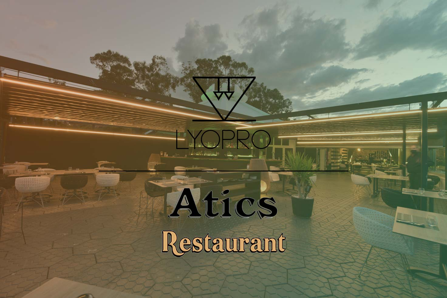 atics restaurant reforma luminica restaurante